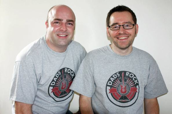 David Marshall & Thomas Lynch, founders of Dads Rock are delighted with how their project has developed.