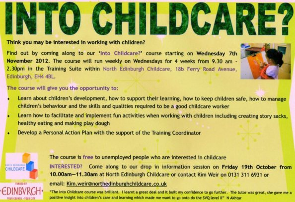 Childcare Course