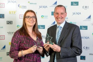 Image 2 SQA Star Awards - Partnership - Edinburgh College2