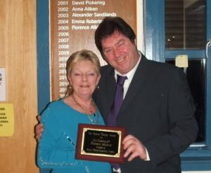 Florence Atkinson: a very popular winner