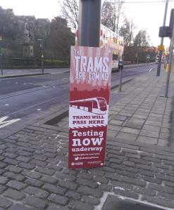 Tram testing