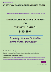 International Womens Day poster