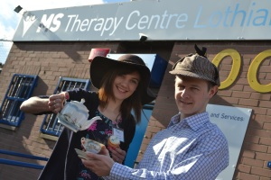 MSTC fundraisers Louise and Chris Liddell