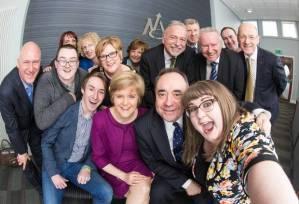 Salmond selfie