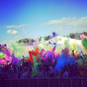 Holi One Colour Festival