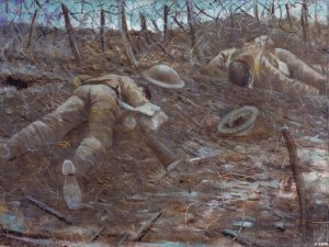 WW1 Paths of Glory by Christopher Nevinson