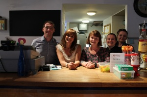 Carol Smillie at the Serenity Cafe
