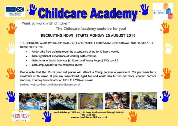 Childcare Poster