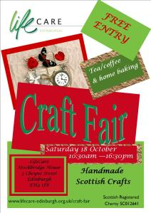 Craft Fair Oct 2014 Poster