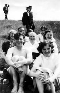 Silverknowes beach 1954