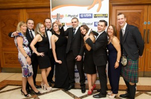 Photo of Westwoods team at the Health Club Awards 2014