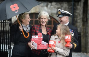 JUDY MURRAY LAUNCHES 2014 SCOTTISH POPPY APPEAL