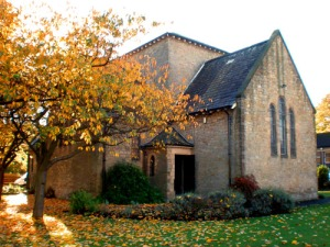 Church-in-Autumn
