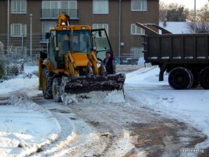Snowplough at Oaklands 2010
