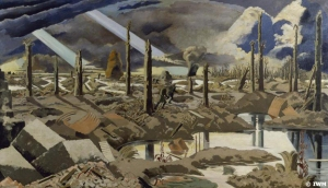 WW1 The Menin Road by Paul Nash